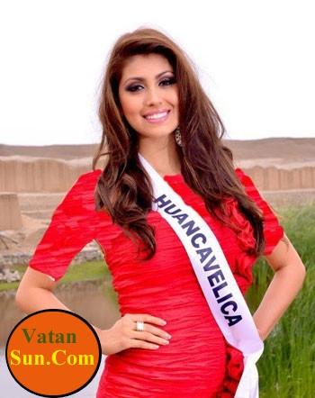 این خانوم زیبا ترین دختر کشور پرو شد+تصاویر