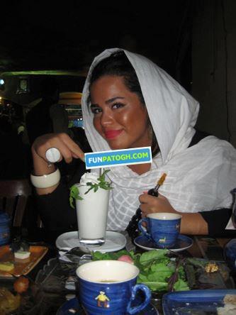 ملیکا شریفی نیا با صورت برنزه + عکس جدید