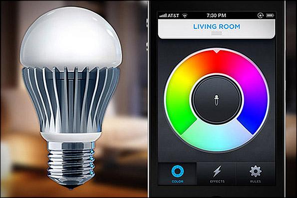 861487 orig هوشمند ترین لامپ جهان با تلفن همراه کنترل می شود!