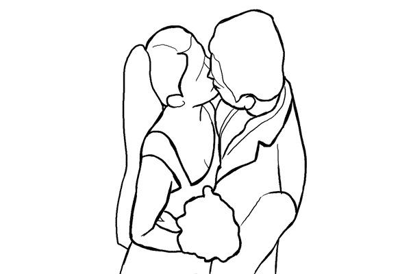 aa90ebbf29f48613f2fd471bba8a134d - چند نمونه ژست و فیگور برای عکس عروس و داماد