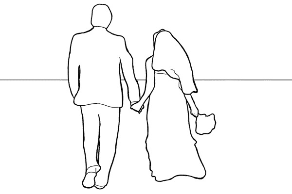 b680260e8927f3a8dcd51b2cb67374cb - نمونه ژست عروس وداماد برای عکاسی