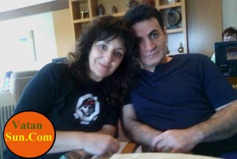 محمد بنا و ماریا پرز همسر اسپانیایی اش+عکس