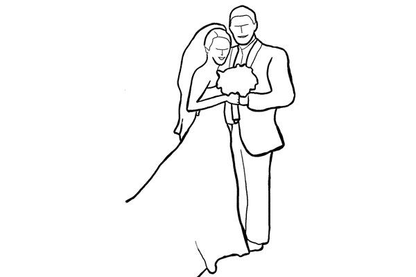 c347a35afdb7bab680240c94703dc3d0 - چند نمونه ژست و فیگور برای عکس عروس و داماد