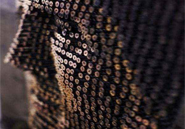 تابلوهای سهبعدی از پیچ و میخ (2)