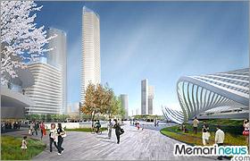 شهر نوظهور Bohai در پکن