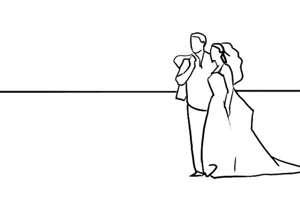 چند نمونه ژست و فیگور برای عکس عروس و داماد