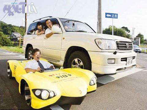 ثبت رکورد کوتاه ترین خودرو در گینس +عکس