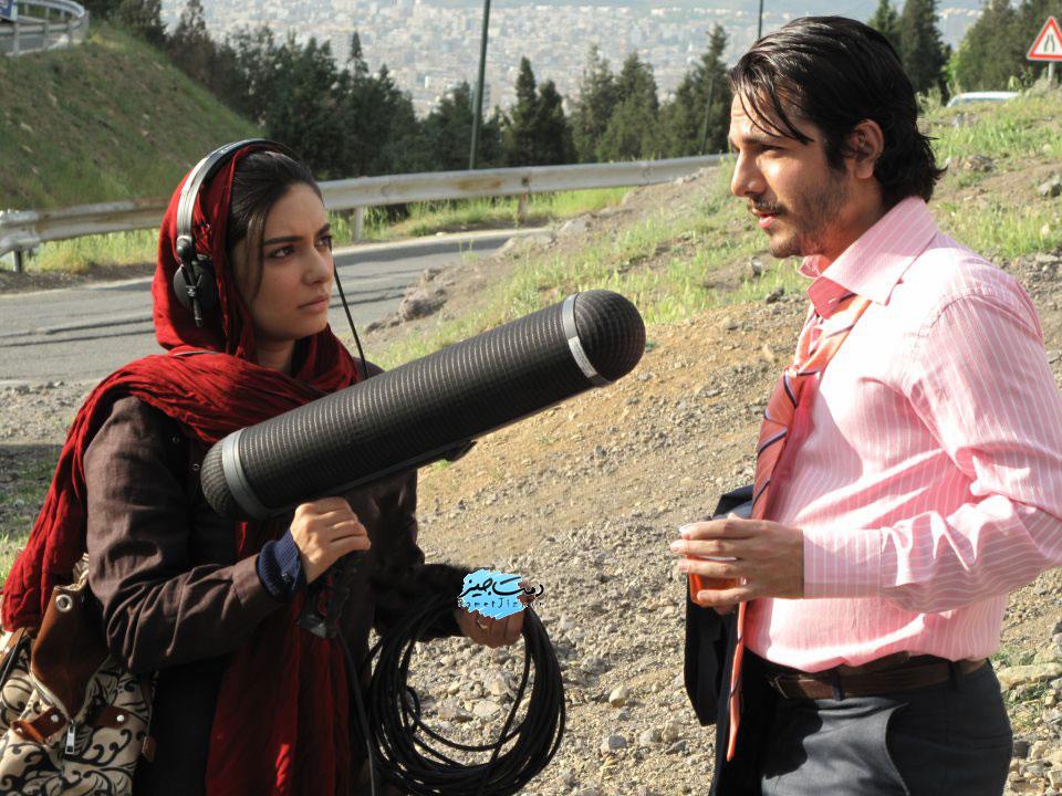 عباس غزالی در کنار لیندا کیانی