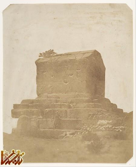 achaemenid persian photos  pasargad 1858 عکس صد و پنجاه ساله عکاس ایتالیایی از پاسارگاد   تاریخ ما Tarikhema.ir