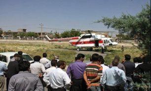 حضور وزیر بهداشت در مناطق زلزله زده آذربایجان