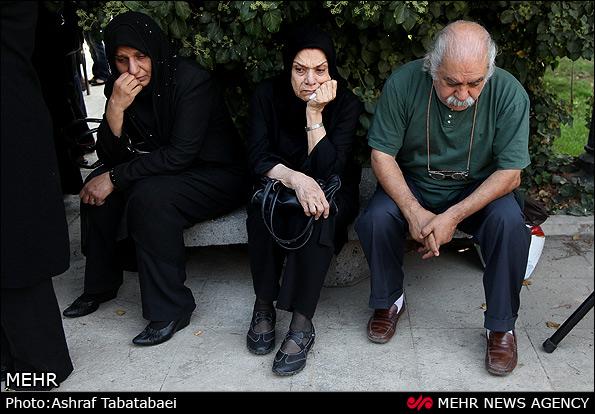 www.ebhamlinks.com | عکسهای تشییع پیکر مرحوم بهروز مسروری