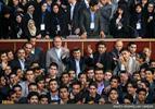 عکس یادگاری رییس جمهور با اعضای ششمین پارلمان دانش آموزی