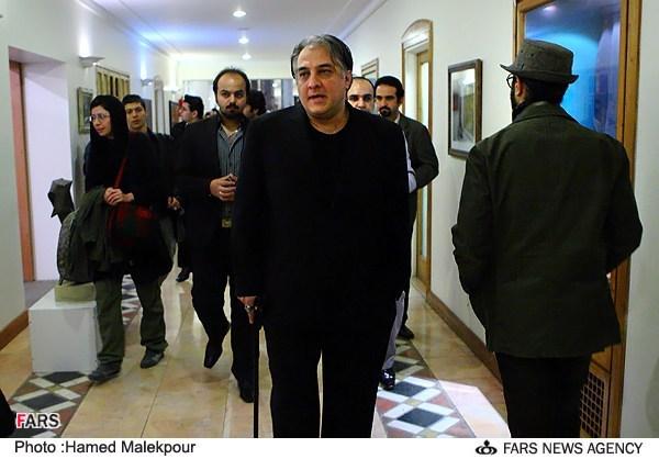 ایرج نوذری در مراسم جشن تولد 88 سالگی مرتضی احمدی