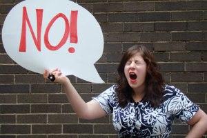 """راحت بگویید """" نه """" !"""