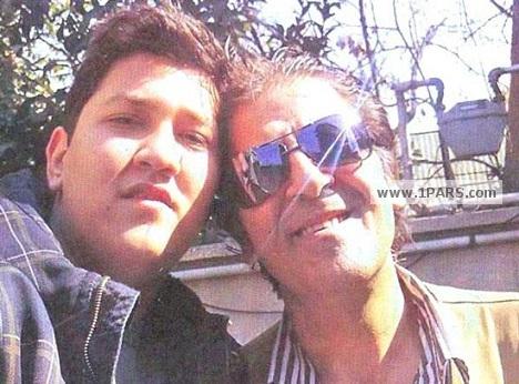ابوالفضل پورعرب در کنار فرزندش پوریا پورعرب + عکس