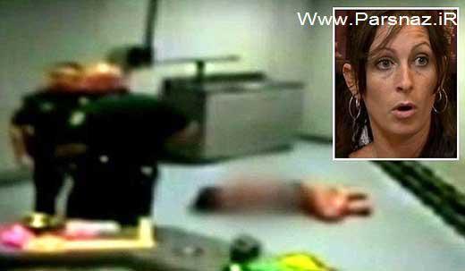 www.parsnaz.ir - کتک زدن و برهنه کردن این زن توسط پلیس آمریکا (+عکس)