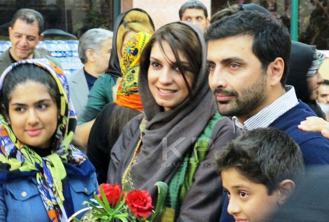 www.ebhamlinks.com   عکس جدید امین زندگانی و همسرش الیکا عبدالرزاقی