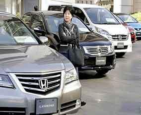 افت بازار خودرو در ژاپن