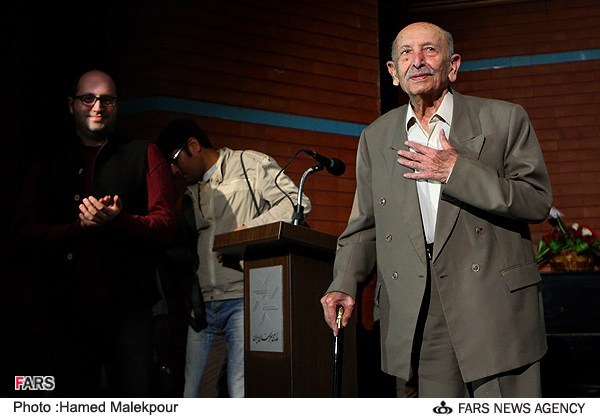مراسم جشن تولد 88 سالگی مرتضی احمدی