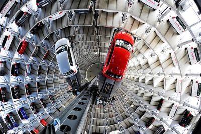پارکینگ طبقاتی پیشرفته فولکس واگن