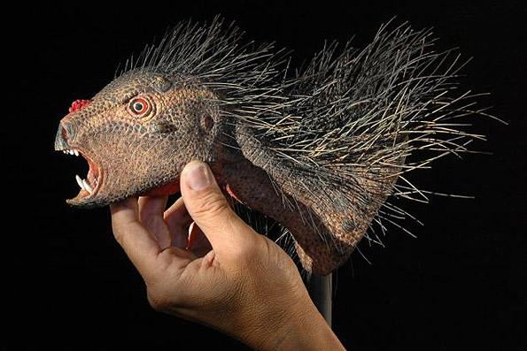 کشف یک گونه دایناسور کوتوله/ دایناسور گیاهخوار با دندانهای خونآشام