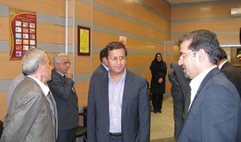 بازدید مدیرعامل بانک سینا از شعب کرمان