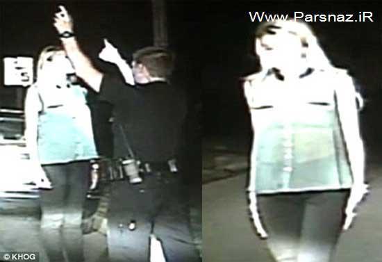 www.parsnaz.ir - دستگیر شدن ملکه زیبایی به دلیل رانندگی در حال مستی!