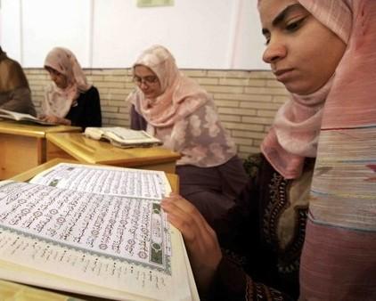 آموزش قرآن کریم در مسجد «اقبا» ایالت «اوهایو»