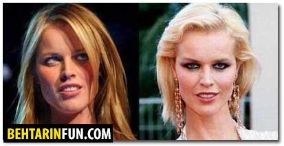 چهره جوانی ستارههای معروف دنیای مد!