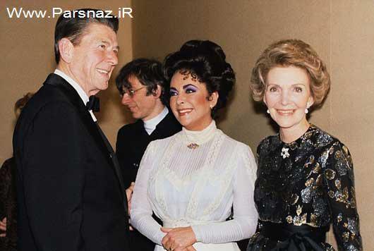 www.parsnaz.ir - رابطه نامشروع رئیس جمهورهای آمریکا با الیزابت تیلور؟ (عکس)