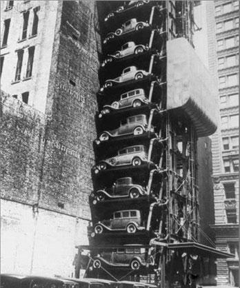 پارکینگ متفاوت در سال ۱۹۳۶