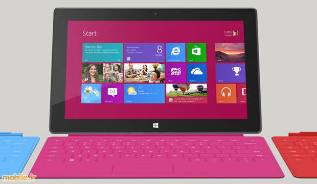 Microsoft Surface with Windows RT آغاز پیش فروش و اعلام قیمت تبلت های سرفیس آر تی مایکروسافت
