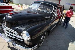 نمایشگاه خودروهای آنتیک +تصاویر