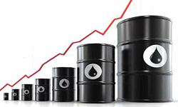 نمودار قیمت نفت ایران امروز در بازار جهانی