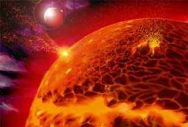 اولین نزدیکی یک سیاره با ستاره ای با قدر بالا