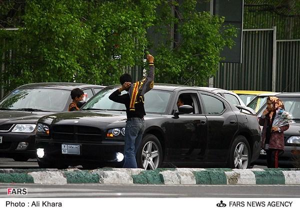 عکس: گذر موقت اشراف زادگان در تهران