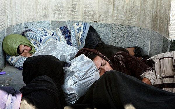 تصاویر طرح جمع آوری معتادان پایتخت