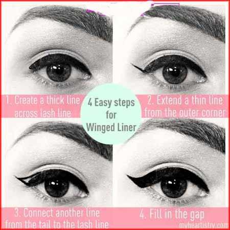 www.ebhamlinks.com | آموزش کشیدن خط چشم بالدار