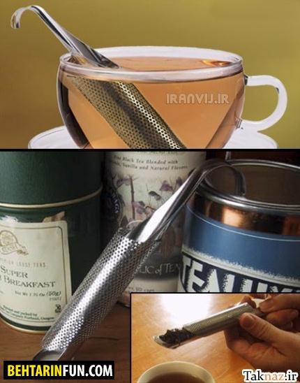 وسایل جالب برای درست کردن چای (عکس)