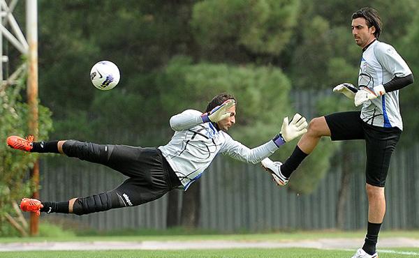 عکس هایی از تمرین با نشاط تیم ملی فوتبال