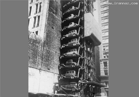 پارکینگ متفاوت در۷۳سال قبل/عکس