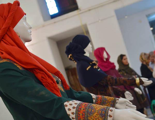 عکس هایی از نمایشگاه مد لباس قجری بانوان