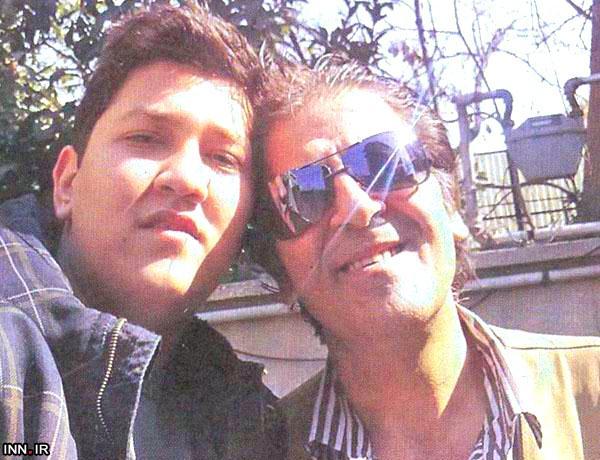 ابوالفضل پورعرب در کنار پسرش پوریا+تصویر