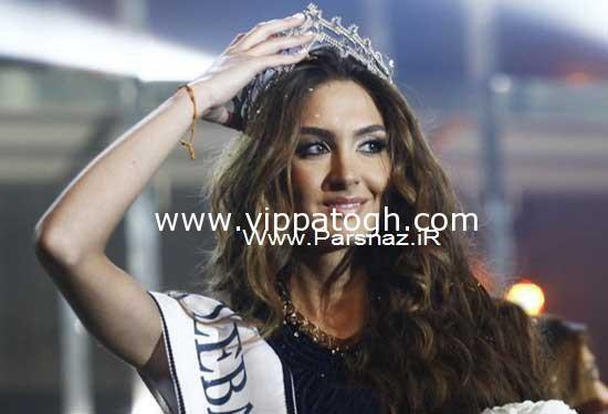 زیباترین دختر شایسته لبنان در سال ۲۰۱۲ + تصاویر