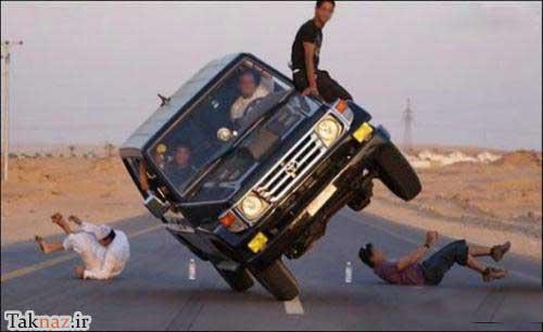تفاوت رانندگی در حالتهای مختلف ! (طنز) www.9ktenews.com