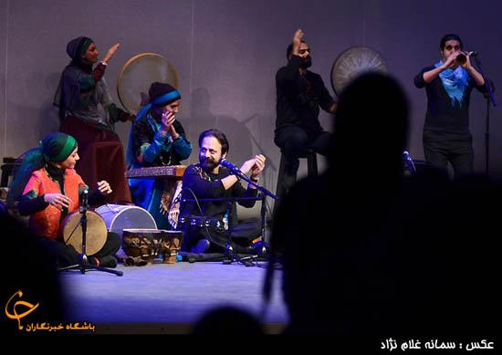 تصاویر کنسرت موسیقی گروه رستاک