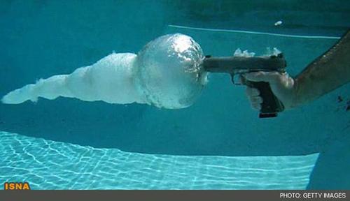 شلیک در آب
