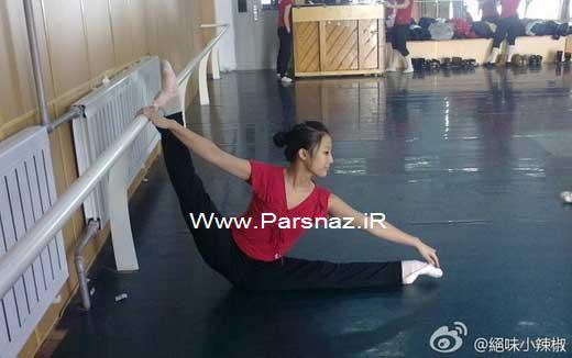 انعطاف پذیری بسیار جالب بدن دختران چینی + عکس