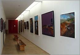 نمایشگاه نقاشی ˝ تداعی ابهام ˝ در یزد