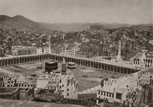 تصاویر نادر از مناسک حج در 125 سال پیش